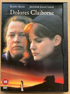 Dolores Claiborne DVD 1995 Stephen King Psychological Drama in Snapper Case