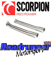 Scorpion Audi RS3 8v Secondary Decats Catalyst Replacement Pipes Fits OE SAUC054