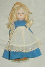 VINTAGE GINNY VOGUE DUTCH GIRL IN COSTUME, WOODEN SHOES 8 INCHES