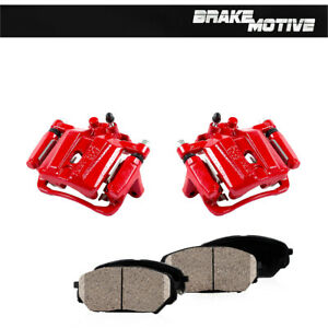 Rear Red Coated Calipers And Ceramic Pads For MERCEDES BENZ E500 E350