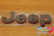 2016 Jeep Patriot Bronze 75th Anniversary Edition Hood Emblem Nameplate OEM