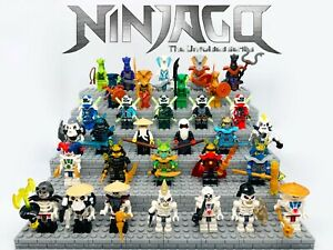 Ninjago Minifigures all Seasons Lot Custom Sets