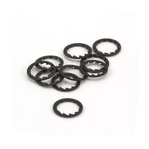 Thin M10 Steel Serrated Lock Washers Pack of 20 For Lighting Assemblies