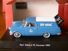 OPEL REKORD P2 CARAVAN 1960 ARAL STARLINE 560627 1/43 TOLEE TOLE BLEU BLUE BLAU