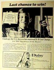 1968  Kids~Toy~Gun Daisy International Champs Print AD