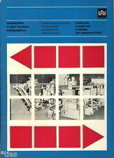 VEB Werkzeugmaschinenfabrik Plauen Prospekt Maschinen für Moped Herstellung 1972