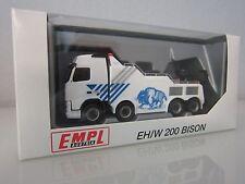 """herpa 1:87 Volvo FH Globetrotter Empl Wrecker """"EMPL EH/W Bison 200"""" neu+ovp"""