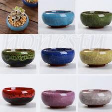 Bonsai Glazed Ceramic Flower Pot Succulent Plant Pot Pottery Garden Ornaments