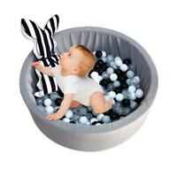 Playpen Baby Kids Round Ball Pit Pool Ocean Safety Play Center Yard Tent  Ball