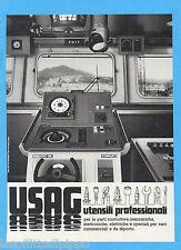 QUATTROR981-PUBBLICITA'/ADVERTISING-1981- USAG UTENSILI PROF. (versione B)