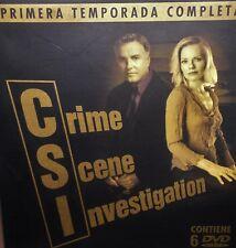 CSI, 6 DVD´S, 1ª TEMPORADA COMPLETA, COMO NUEVOS