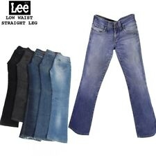 VINTAGE LEE WOMENS LOW WAIST STRAIGHT LEG JEANS DENIM 26 in. to 40 in.