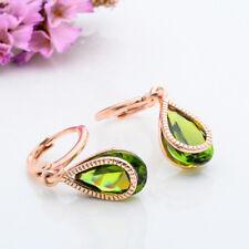 Fashion Wonderful 18k Gold Plated Colors cubic zirconia Dangle Earrings