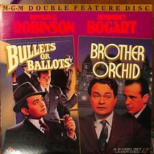 Bullets & Ballots / Brother Orchid - Double Laserdisc Buy 6 for free shipping