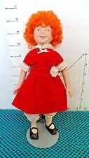 "Doll, Annie,10"", Sales Sample, ""Applause"", Porcelain Head, Arms, Legs, Soft Body"