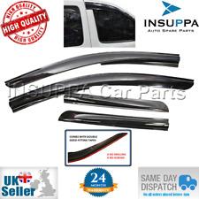 Viento Lluvia Sol Humo Protector Deflector 4pcs para Peugeot Partner Tepee MK2