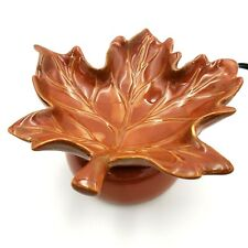 Scentsy Maple Leaf Full Size Element Warmer No Light Bulb Needed