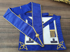 Craft Provincial Undress apron, Masonic Aprons, Masonic Regalia