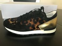 Pollini Safari/Gold Sneakers Low Tops - Originally $270