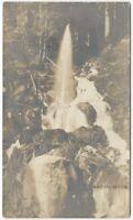1900s Natural Geyser Northern California Real Photo Postcard
