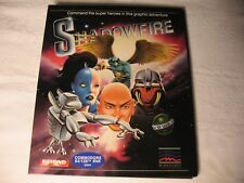 RARE C64 Beyond/Mindscape Shadowfire Commodore 64/128 Tested