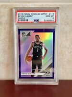 2019 Panini Donruss Optic Kevin Durant #112 Purple PSA 10 First Nets *Pop of 10*