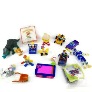Vintage  happy meal Toys  Lot 80s & 90s McDonalds Burger King Mixed Fry Fraggle