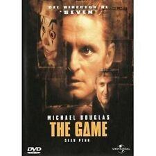 THE GAME -  DVD NEUWARE MICHAEL DOUGLAS,SEAN PENN,DEBORAH KARA UNGER