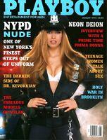 Playboy Magazine August 1994 - Deion Sanders Interview