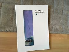 BMW 3 SERIES  COUPE . BROCHURE.  1995.           A