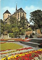 BT14780 Monchengladbach munsterkirche mit abteigarten            Germany