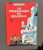 Spirou et Fantasio n°14. Le prisonnier du Bouddha. Dupuis 1972 Re dos rond