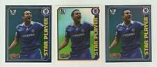 2008-09 Topps Total Football / Frank Lampard (Chelsea) / 3 Star Player stickers