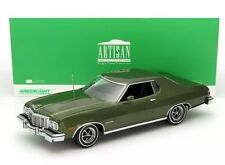 1976 Ford Gran Torino 1/18 Green Metallic 1:18 Greenlight Artisan