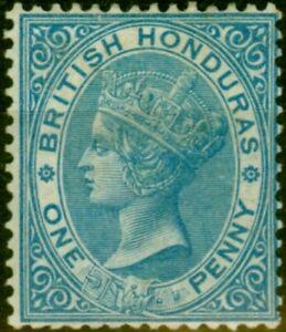 British Honduras 1884 1d Blue SG17 Fine Mtd Mint