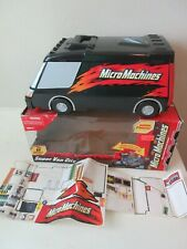 2003 Micro Machines Super Van City fold out playset, w original box