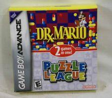 **NEW** Dr. Mario & Puzzle League (Nintendo Game Boy Advance, 2005)