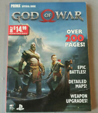 New God of War PS4 Official Guide Prima