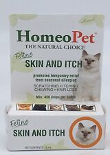 Brand New HomeoPet Feline Skin and Itch 15-ml