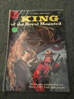 KING OF THE ROYAL MOUNTED DELL COMICS MARCH-MAY -RARE- GOOD CONDITION