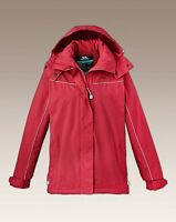 uk size  s 12-14 trespass jacket RED ref rail 17