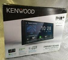 """Kenwood Car 7"""" Monitor Incl Receiver DMX8019DABS With Smartphone Control"""