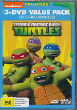 Teenage Mutant Ninja Turtles 3-movie value pack DVD NEW Mutagen Mayhem