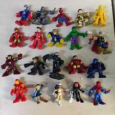 "Lot 20x PlaySkool Heroes Marvel Super Hero Squad Adventures 2.5""Figures Toy Gift"