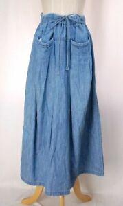 Plantation ISSEY MIYAKE Denim Skirt 350 3481