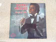"""JOHNNY MATHIS  SINGS OF LOVE   12""""  L.P"""