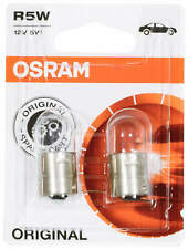 2x R5W Osram ORIGINAL Interior Door Truck Parking Signal Lights 5007-02B 12V