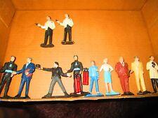 Gilbert James Bond lot of figures. Odd job lot diarama