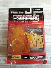 Transformers Heroes of Cybertron G1 Powermaster Optimus Prime Spark Attack Figur