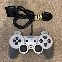 Official SONY PLAYSTATION 2 PS2 DualShock Analog Controller SCPH-10010 SILVER -